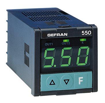 Konfigurovateľný časovač, čítač Gefran 550