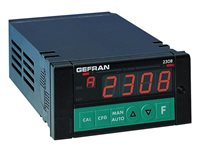 8-kanálový zobrazovač s alarmom hraničných hodnôt Gefran 2308