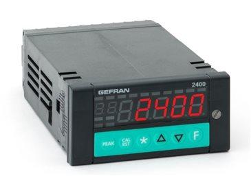 Rýchly zobrazovač procesov, alarm hraničných hodnôt Gefran 2400
