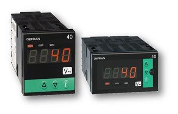 Indikátor s údajmi hraničných hodnôt pre striedavý prúd a napätie Gefran 40A48-96
