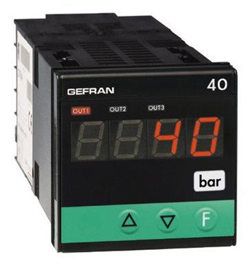 Indikátor so vstupom pre tenzometer a potenciometer Gefran 40B48