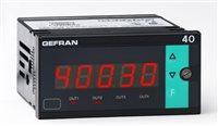 Indikátor so vstupom pre tenzometer a potenciometer Gefran 40B96