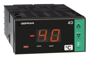 Panelový zobrazovač - alarm jednotka Gefran 40T72