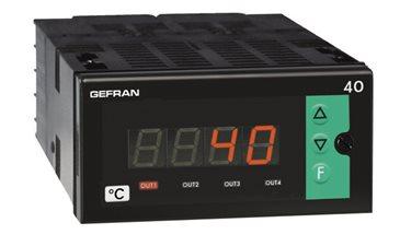 Konfigurovateľný zobrazovač Gefran 40T96