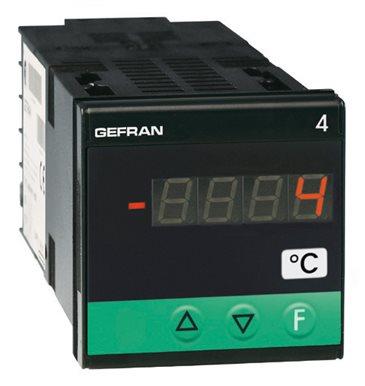 Konfigurovateľný indikátor, alarm jednotka Gefran 4T48