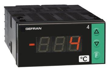 Indikátor teploty s konfigurovateľným vstupom Gefran 4T72