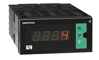 Konfigurovateľný zobrazovač teploty s univerzálnym vstupom Gefran 4T96