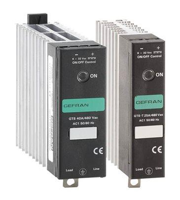 Jednofázové polovodičové relé SSR s logickým riadením Gefran GTS
