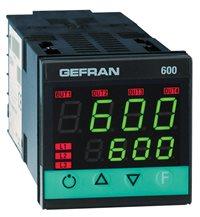 Konfigurovateľný regulátor Gefran 600