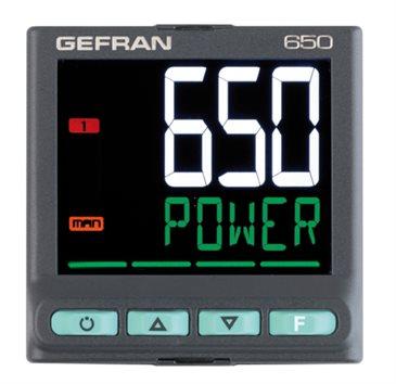 650 PID regulátor teploty 1/16 DIN