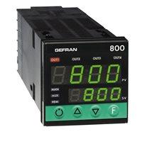 Regulátor teploty konfigurovateľný on-off-pid Gefran 800