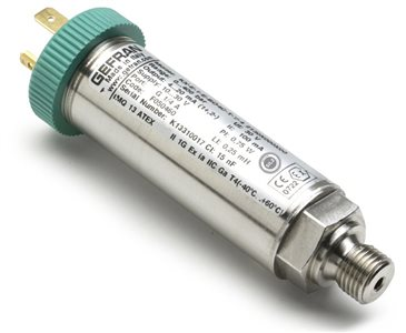 ATEX snímač tlaku pre použitie v prostredí s nebezpečenstvom výbuchu KX