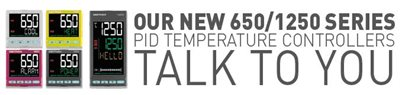Regulátory teploty 650/1250